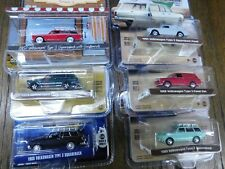 Greenlight Collectibles 6 different Volkswagen squareback for one price 1/64