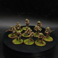 Well Painted 28mm Bolt Action British infantry (plastic) ×10 squad #3 ww2