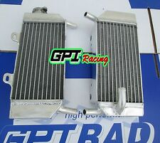 Aluminum radiator FOR Honda CRF250R CRF250X 2004-2009 05 06 07 08 2005 2006