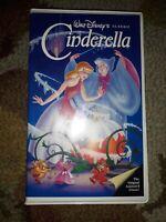 Cinderella Walt Disney Black Diamond VHS Tape
