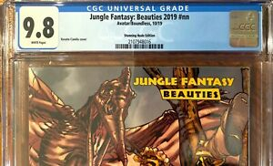 Jungle Fantasy: Beauties 2019 #nn CGC 9.8 Single Highest Graded Avatar Press
