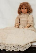 K & R, Kammer & Reinhardt Antique Celluloid Head Doll #406 w turtle mark-14�