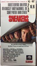 Sneakers (VHS, 1993) Factory Sealed! Robert Redford, Dan Aykroyd