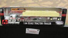 Dcp #30534 Mr. Trucker Pete 379 Semi Truck Lumber Load Flatbed Trailer 1:64 Fc