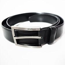 Strellson Classic Mens Leather Belt Black 3e268661f3e
