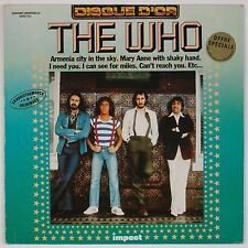 THE WHO: Hits FRANCE Impact Disque D'Or Vinyl LP NM-