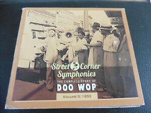 VARIOUS - STREET CORNER SYMPHONIES - THE COMPLETE STORY OF DOO WOP VOL. 5 1953