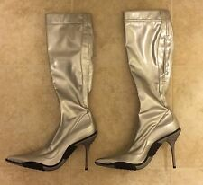 *New* Casadei Silver boots Size 7