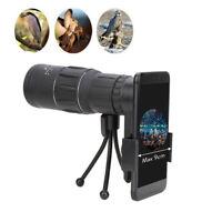 Monocular 16x52 Optics Zoom Lens Camping Hiking Hunting Telescope Scope Outdoor