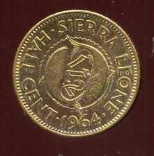 SIERRA LEONE  1/2  cent 1964  ( bis )