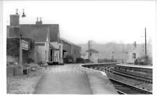 AB1 Real Railway Photograph GW Station Wivelscombe looking toward Taunton 23-11-