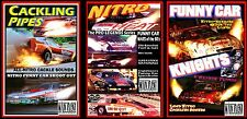 Drag Racing Nostalgia Funnies 3-pk CACKLING PIPES, NITRO HEAT, FUNNY CAR KNIGHTS