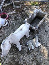 Aluminum Concrete Mold CMC Donkey Cart, Donkey , Wheel And Ears