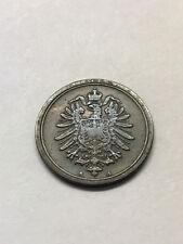 1876-A Germany 1 Pfennig VF+ #15893