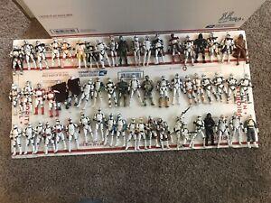 Huge Star Wars action figures 60 Clone Trooper Army Builder Lot