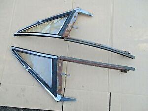 GM OLDS PONTIAC CHEVY BUICK A-BODY 1968 2-DOOR HARDTOP VENT WINDOW ASSEMBLIES