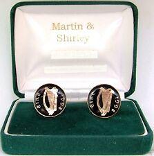 1998 Irlanda Gemelli VECCHIO Irish monete in nero e oro