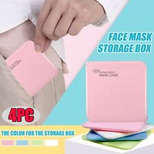 Face Mask Case Portable Container Protective Storage Box Clean Organizer