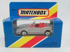Matchbox Cadillac Allanté grey
