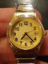 Vintage Datejust ladies watch, running with new battery no Reserve