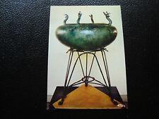 FRANCE- carte postale musee de chatillon-sur-seine (bronze et fer) (cy40) french
