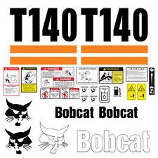 Bobcat T140 Skid Steer Set Vinyl Decal Sticker 25 Pc