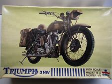 ESCI Vintage 1/9 Scale Triumph 3 HW Military despatch Motorcycle - Used - 7004