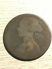 Great Britain English 1865 Victoria Large Cent  1 Penny  Copper