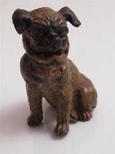 COLD PAINTED AUSTRIAN BRONZE PUG DOG FIGURINE
