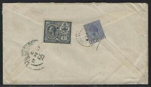 1927 Bahamas Registered Cover - Nassau to Vienna, Austria