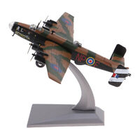 Handley Page Halifax B Mk.III diecast 1:144 Metal Model w/ Display Stand Toy
