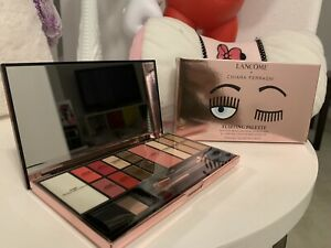 Lancome x Chiara Ferragni FLIRTING PALETTE Face Eyes Lip New Box Limited Edition