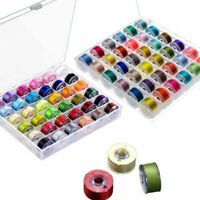 72PCS Bobbins & Sewing Thread & Case For Brother Singer Babylock Janome TT-ITEM