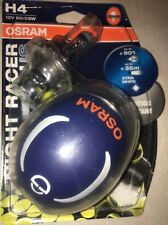 OSRAM H4 NIGHT RACER PLUS  H4 OSRAM NIGHTRACER BIKE BULBS TWIN PACK