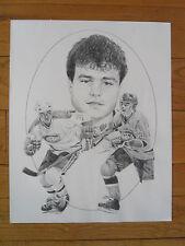 1986-87 Kraft John Kordic Unissued Canadiens Poster