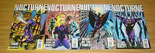 Nocturne #1-4 VF/NM complete series - dan abnett - marvel comics pulp hero 2 3