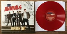 """THE ANIMALS London Live 12"""" Red Vinyl NEW & SEALED"""