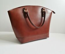 Italian Genuine Leather Tan/Brown Bag NEW