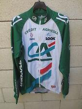 Veste CREDIT AGRICOLE Nalini Look UCI Pro Tour MantoTex Pro jacket giacca 5 XL