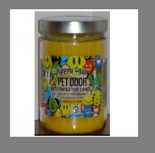 "Pet Odor Exterminator Candle "" Happy Days"""