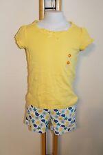 Gymboree Sea Splash Girls Size 7 Basic Top  Beach NWT NEW SEA SHELLS Shorts Knit