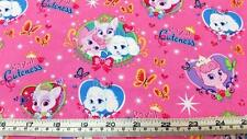 PALACE PETS ROYAL CUTENESS CATS DOGS LICENSED COTTON QUILT FABRIC