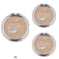 3 X 10 g/Catrice Gesichtspuder All Matt Plus Shine ControlPowder 025 Sand Beige