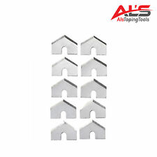 Automatic Drywall Taper Stainless Steel Cutter Blades 10 Pack *NEW*
