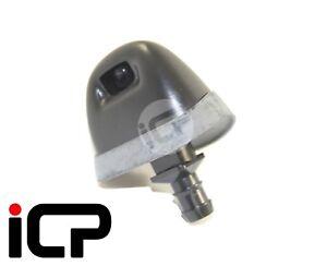 2x Front Bumper Headlamp Headlight Washer Jets Fits: Subaru Impreza 98-00
