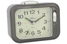 Atlanta Senioren-Wecker Glockenwecker Laut Analog Silber 1942-4