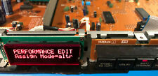 OLED display 16x2 retrofit really red Yamaha TX81Z (and more) plug & play