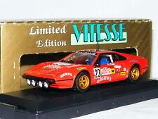Vitesse L070 Ferrari 308 GTB 1978 San Remo Rally #23 LTD ED 1/43
