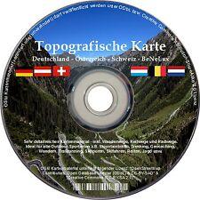 Für Garmin DACH TOPO Deutschland Österreich Schweiz Benelux Karte DVD Navi