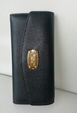 MICHAEL KORS Damen Geldbörse Portemonnaie JET SET ITEM SLIM FLAP WALLET black